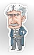 Robert Borden from the MacKayCartoons Boutique