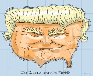 Editorial Cartoon by Graeme MacKay - Wednesday November 9, 2016