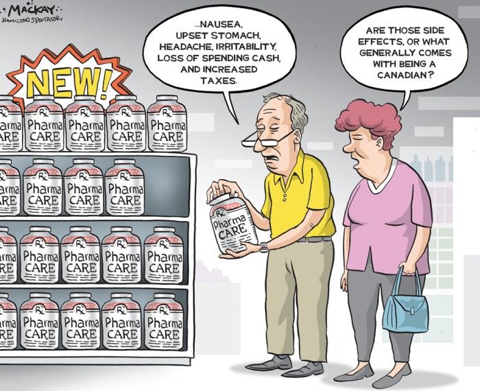 Recycling can cartoon