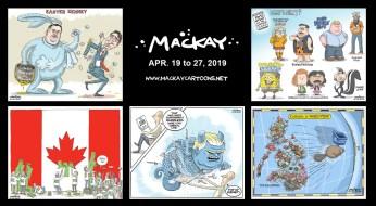 Apr. 19 to 27, 2019