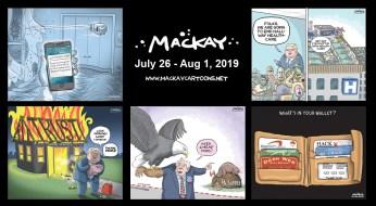 July 26 - Aug 1, 2019