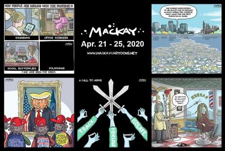 Apr. 21 - 25, 2020