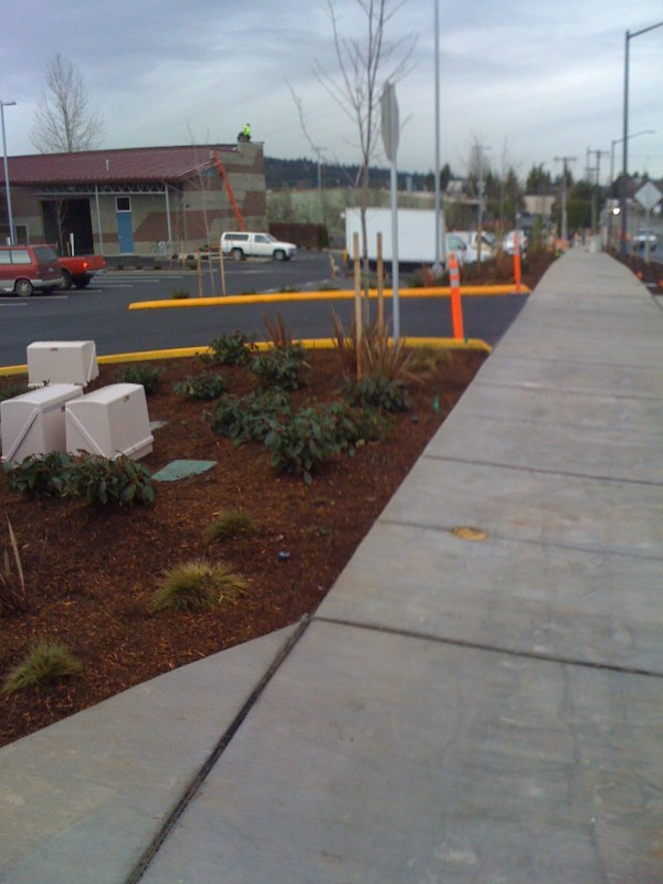 commercial landscaping creates