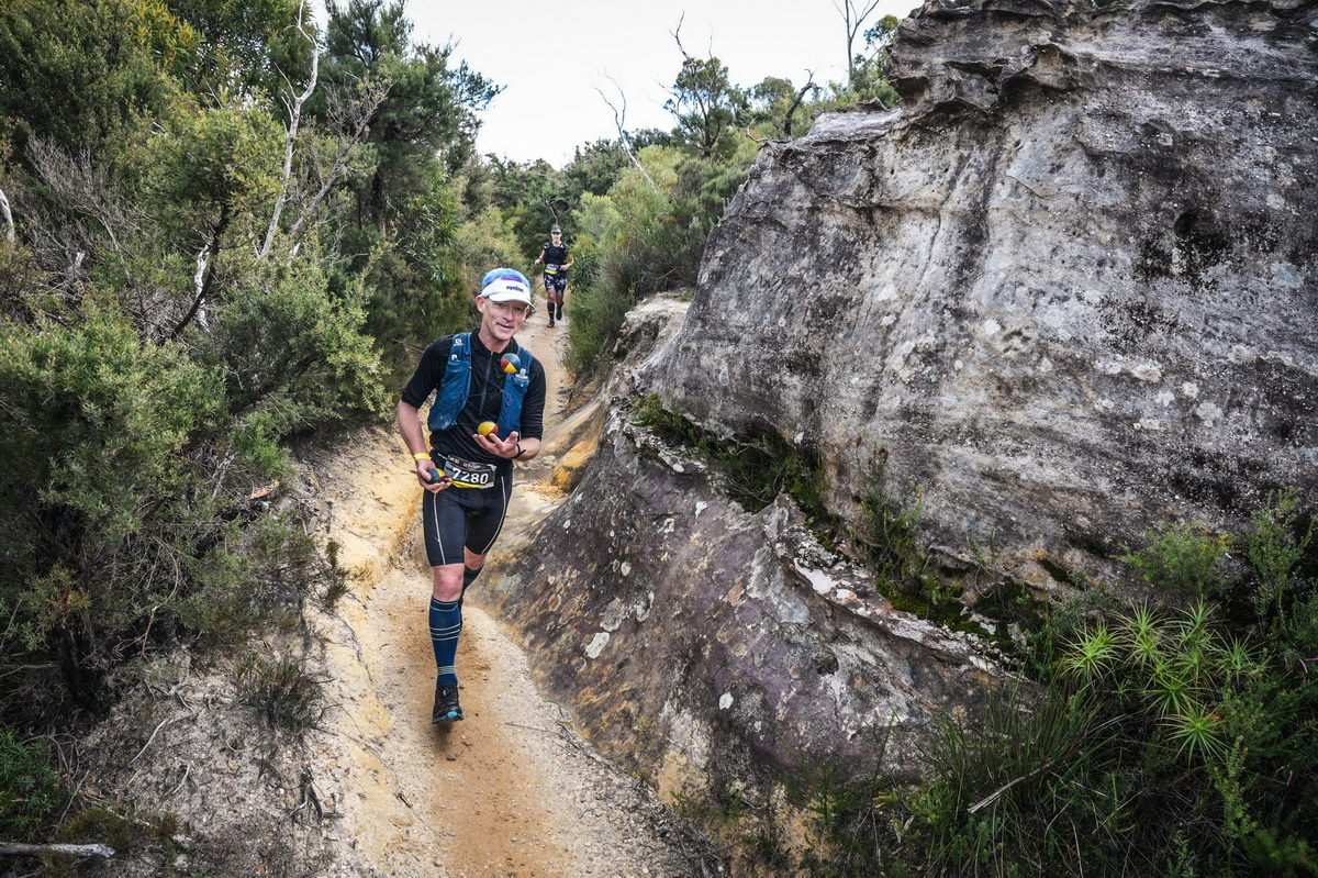 Joel hits the trails in the UTA 50-km race