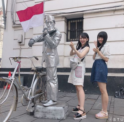 STU48,土路生 優里と中村舞が徳島新聞に?