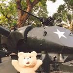 ベトナム,戦争博物館,タンク,ホーチミン(サイゴン),2017.11,写真70枚