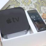 Apple TV 4K,来た! 最初の設定,メモ