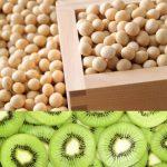 シワの原因は骨にある、大豆、キウイ、ビタミンK