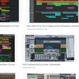 DAWとは、デジタル・オーディオ・ワークステーション Digital Audio Workstation