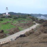 千葉の最南端、野島崎灯台、歩いてると磯の香りがプンプン