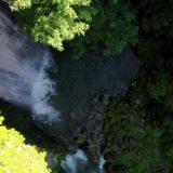 銚子の滝【涼しい絶景】岐阜県,高山市,ドローン