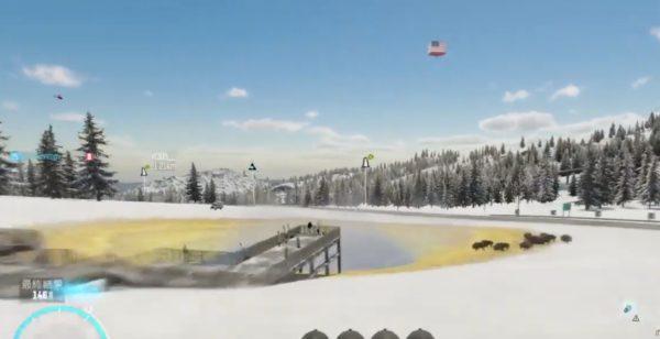 ソルトレイクシティのジャンプ台まで行ってクルマでジャンプ