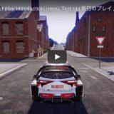 ~WRC 8, First play, Introduction, menu, Test run,最初のプレイ ,紹介,メニュー,テスト走行