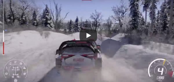 WRC 8, First play, Sweden, Introduction, スエーデン,最初のプレイ, First day