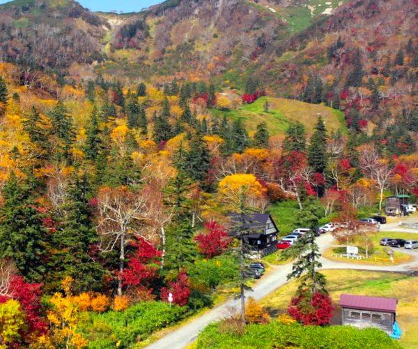 箱庭のような美しさ、紅葉の大雪高原温泉~北海道の紅葉ドライブ2019~