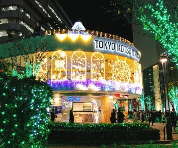 東京のクリスマスとイルミネーション2019