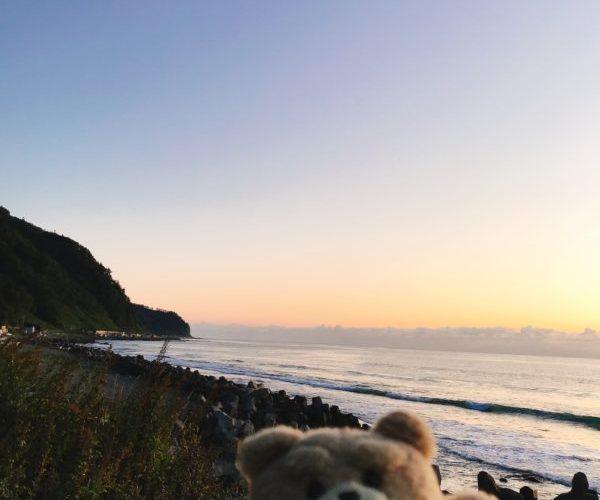 【空撮】知床半島の夜明けと空からの眺め~クルマで行ける最終地~相泊~北海道~2019年10月