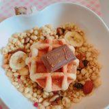 【グラノラ アレンジ】チョコとワッフル〜グラノラ〜
