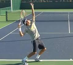 【テニス】サーブはインパクトでフラットに当てるイメージで威力が増す