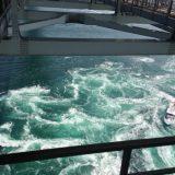【渦の道】高所注意・45Mの高さからガラス越しに渦を見下ろす。大鳴門橋・徳島県 鳴門市