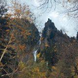 【滝百選】銀河の滝、流星の滝、北海道 層雲峡【ドローン空撮】