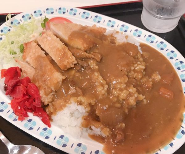 【カレー】チキン竜田