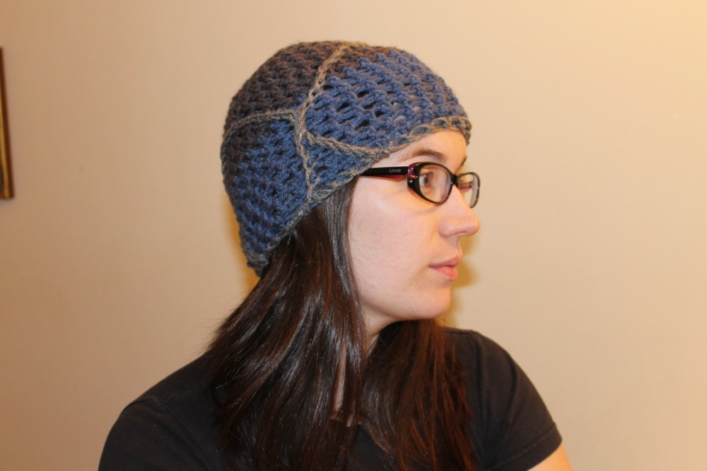 Handmade Day #9:  The Criss-Cross Hat