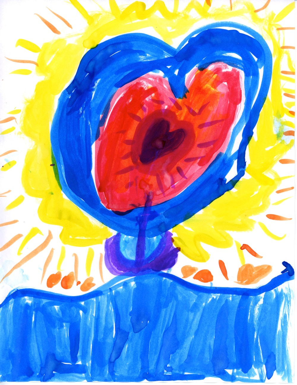 Open Heart by Paloma, age 5?