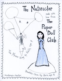 Nutcracker paper doll club