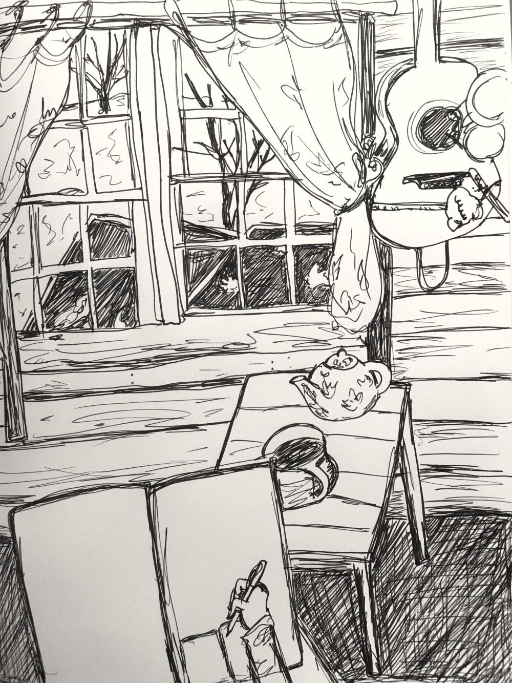 music room tea