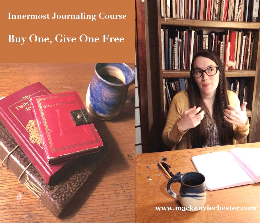 innermost journaling course buy one give one free discount coupon free journaling course
