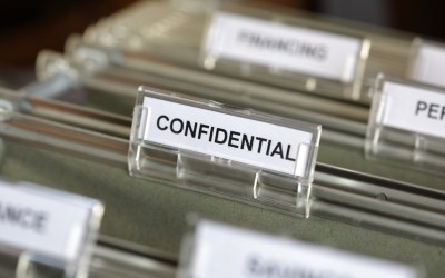 Keep That Confidential, Please