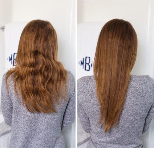 design darling hair straightening brush