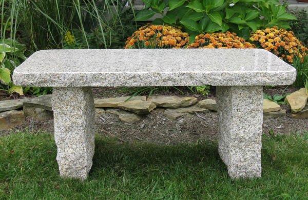 Granite Benches And Bird Baths Central Maine Mackenzie