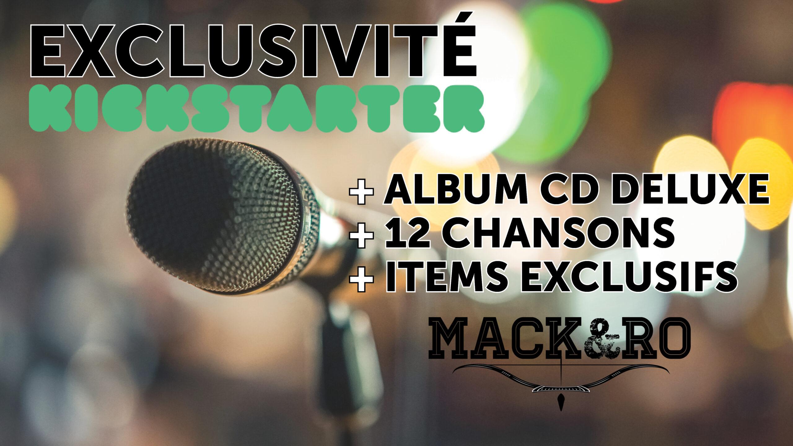 Précommandez le nouvel album DELUXE de Mack et Ro