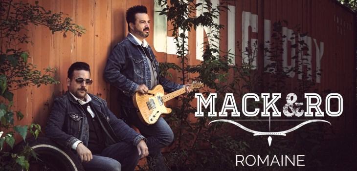Promo de la pochette du single Romaine du groupe Mack et Ro