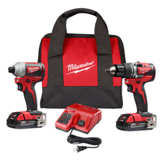 M18 18V Li-Ion Brushless Cordless Drill/Impact Combo Kit (2-Tool) With (2) 2Ah Batteries & Case