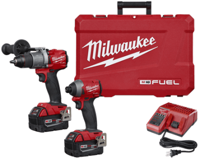 M18™ FUEL 2-Tool Combo Kit: Hammer Drill/Impact w Packout