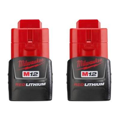 M12 REDLITHIUM™ Compact Battery Two Pack
