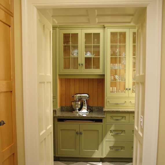 Custom Pantry Cabinets MacKneson Design Inc