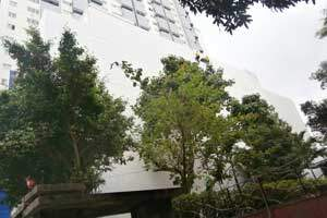 Promethium exterior wall