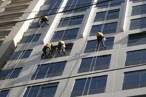 Mackintosh cleans Frabelle windows