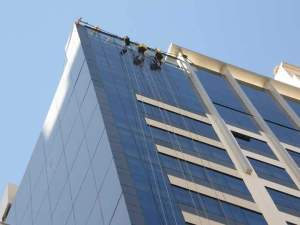 Deployment for window cleaning at Frabelle