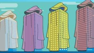 Raincoats for buildings