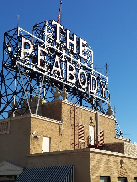 Peabody Hotel Memphis Sign