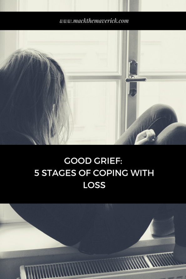 Good Grief - 5 stages of coping with loss