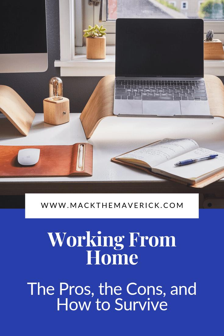 laptop, desk, journal, mouse