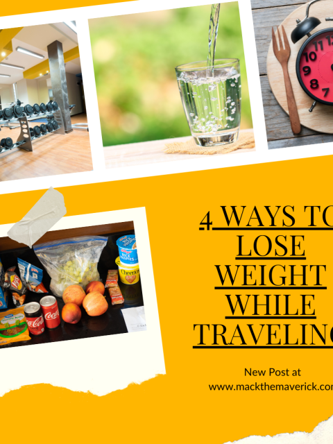 4 ways to Lose weight while traveling
