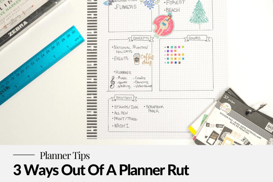 Planner theme list