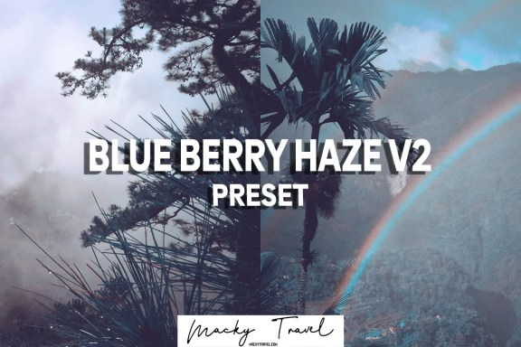 BLUE BERRY HAZE PRESET LIGHTROOM DNG XMP